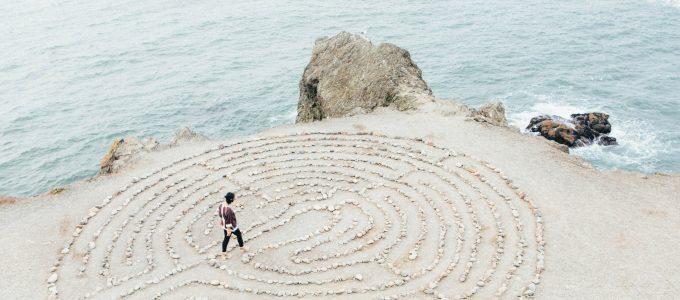wellness picture of sand raking