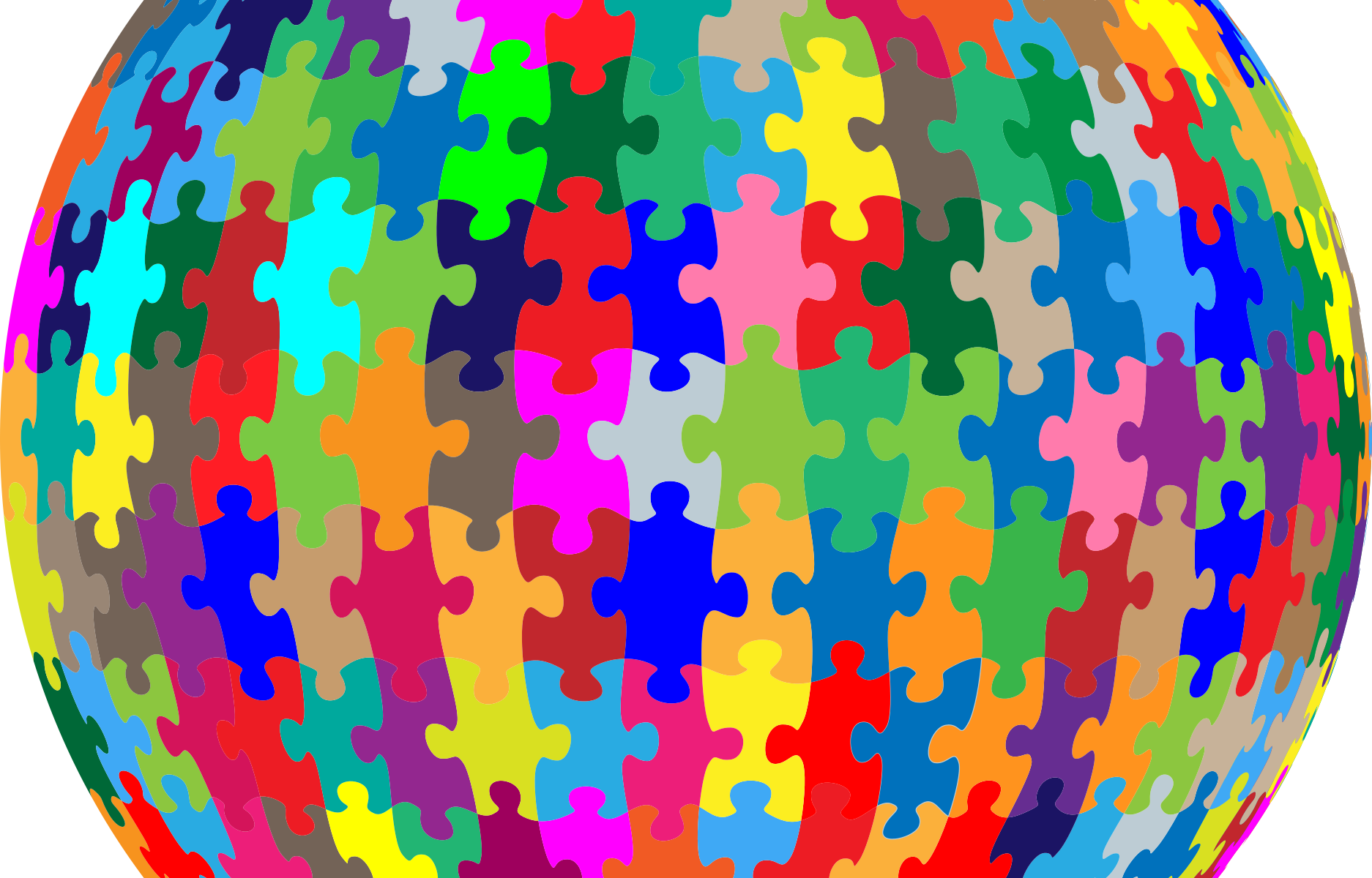World Puzzle Colors